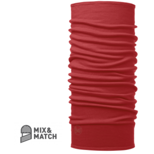 MERINO WOOL BUFF® Cranberry Red