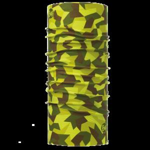 Original Buff Hunter Military Block Camo Green
