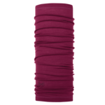 Merino Buff  Purple Raspberry