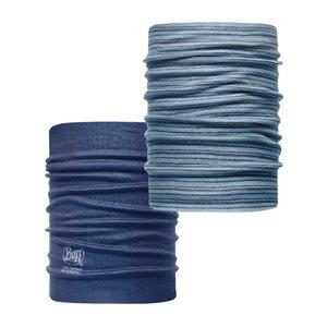 Merino Neckwarmer Buff  Arnos - blue