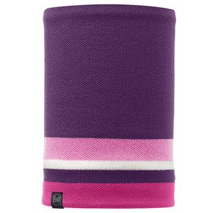 Knitted & Polar Fleece Neckwarmer Buff® Ovel Plum