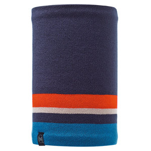 Knitted & Polar Fleece Neckwarmer Buff® Ovel Blue