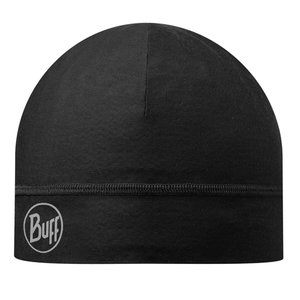 MICROFIBER 1 LAYER HAT BUFF® SOLID BLACK
