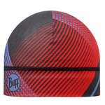 MICROFIBER 1 LAYER HAT BUFF® RETRO LINES RED