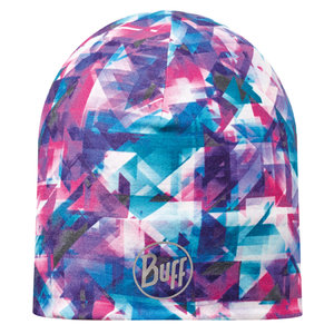 MICROFIBER REVERSIBLE HAT BUFF® R-FLECTED TURQUOISE-MAGENTA