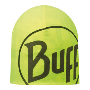 MICROFIBER REVERSIBLE HAT BUFF® R-LOG US BLACK - YELLOW