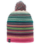 KNITTED & POLAR HAT BUFF® NEPER MAGENTA