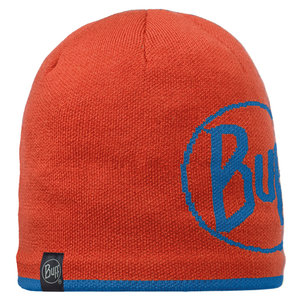 KNITTED & POLAR HAT BUFF® LOGO ORANGE