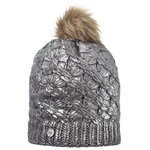 KNITTED & POLAR HAT BUFF® SLOISSA CHIC GRAPHITE