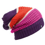 KNITTED NECKWARMER HAT BUFF® AIDAN PLUM