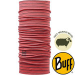 MERINO WOOL DYED STRIPES BUFF® CAYENNE